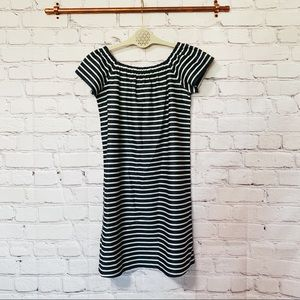 NWT Madewell striped off the shoulder dress